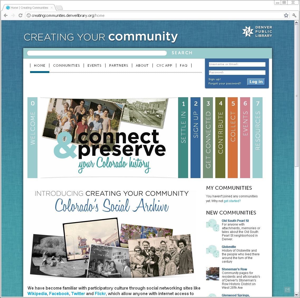 Creating Your Community Going Offline January 31, 2015