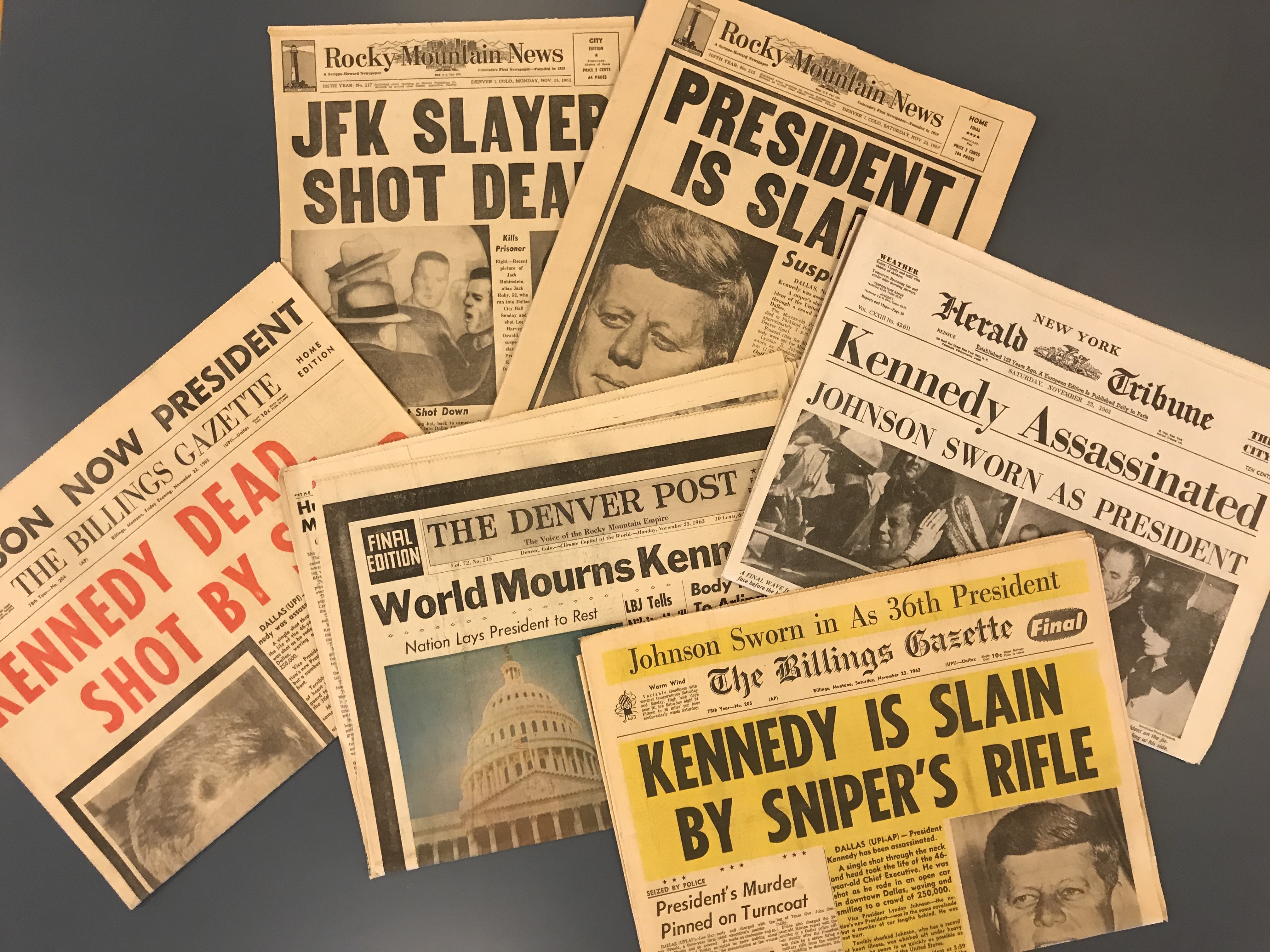The Enduring Legacy of the JFK Assassination Newspaper | Denver Public Library History