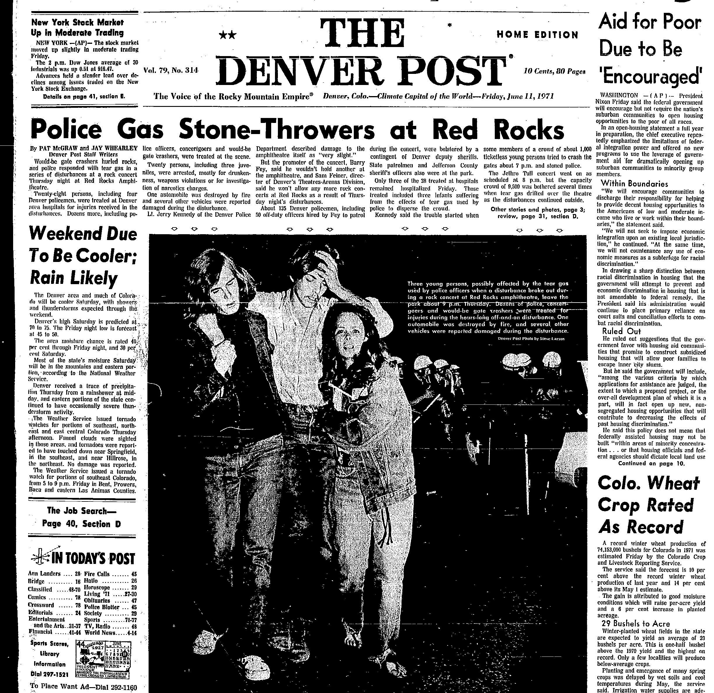 Red Rocks, Riots & a Rock 'n' Roll Revival: The Birth of the Summer