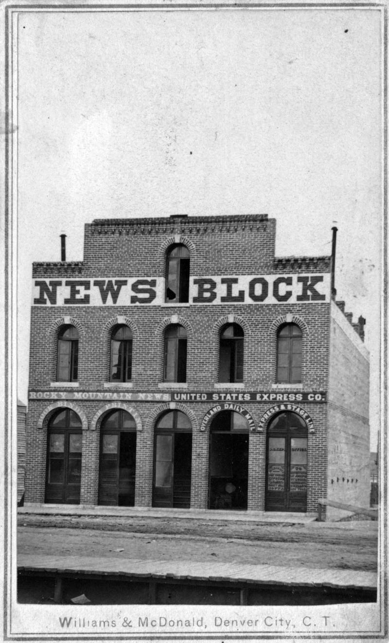 The Rocky Mountain News At Denver Public Library