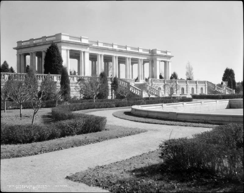 Image result for cheesman park 1900s