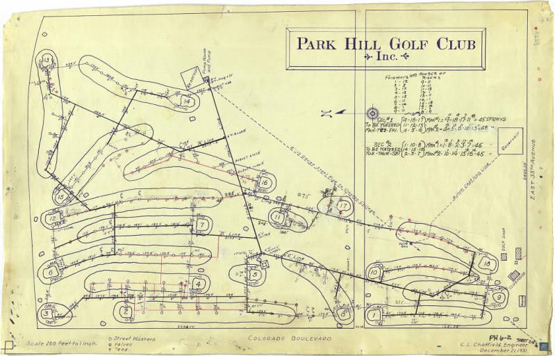 Park Hill Golf Course Restaurant Denver