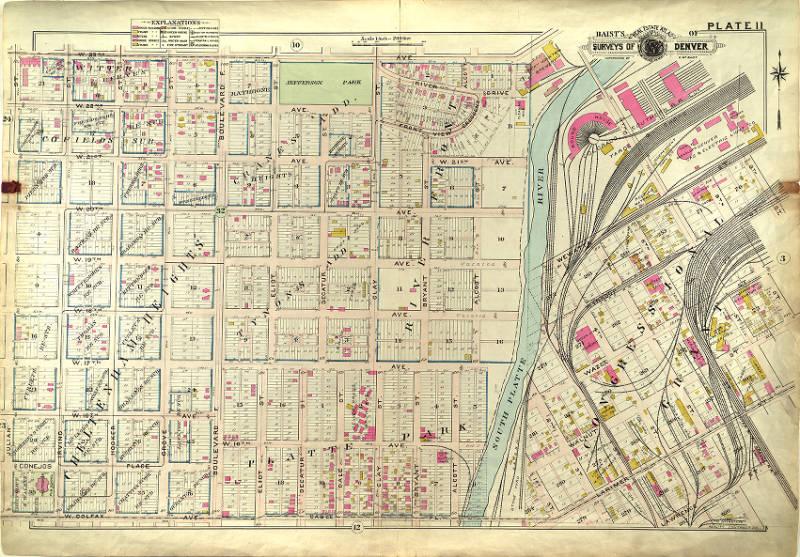 West Colfax Neighborhood History   Denver Public Liry History on