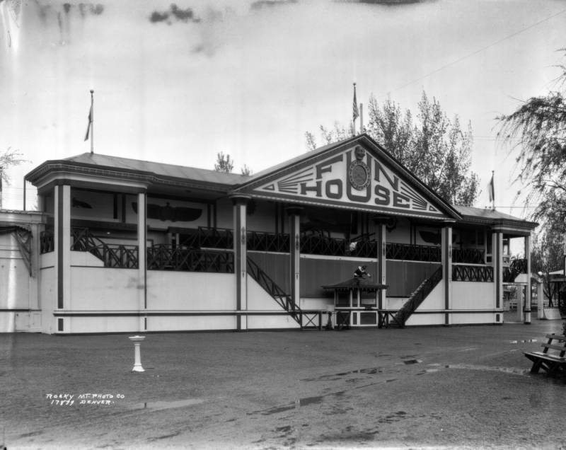 The History Of Lakeside Amusement Park In Photos Denver