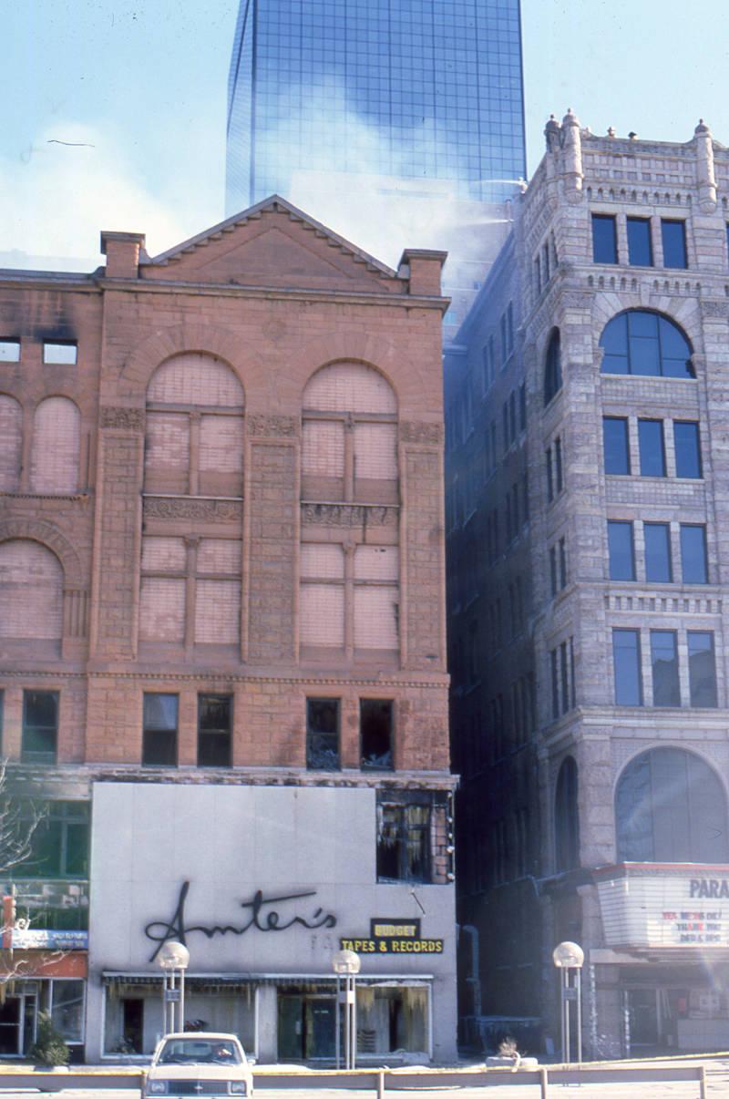Masonic Temple Fire | Denver Public Library History