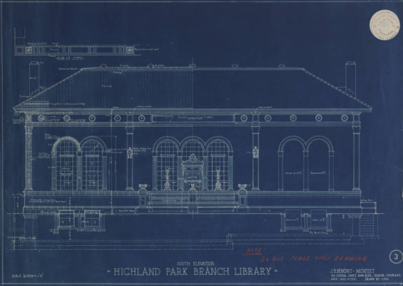 Building plans and drawings denver public library history malvernweather Gallery