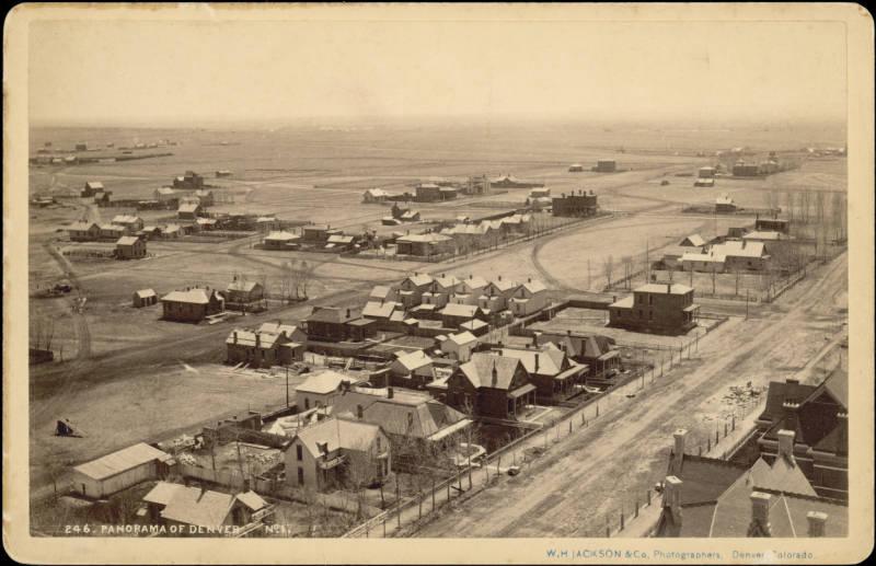 1905 DENVER COLORADO UNION DEPOT /& CITY HALL 14TH ST 18TH ST BAIST ATLAS MAP