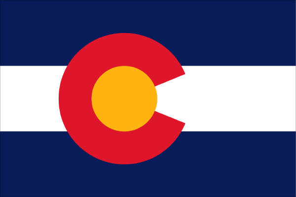what do the colors on the colorado state flag mean denver public library history