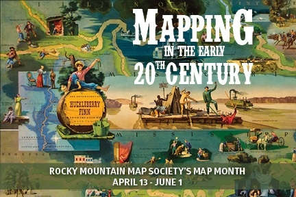 Celete Map Month with DPL and the Rocky Mountain Map Society ... on