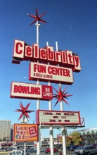 Celebrity Sports Center: Bowling, video games, and your very first water slide