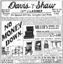 Davis & Shaw Furniture Company: Denver's 20th Century Furniture Store