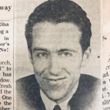 The Disappearance of Professor Thomas Riha