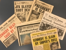 The Enduring Legacy of the JFK Assassination Newspaper
