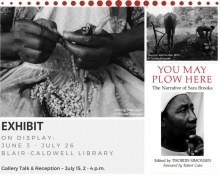 You May Plow Here: Exhibit & Gallery Talk