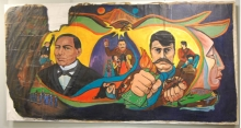 Important and Historic Mural by Chicana Artist, Carlota Espinoza Back on Display