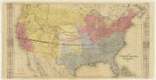 One-of-a-Kind Gold Rush Map