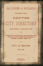 How to Search City Directories in Ancestry Library Edition